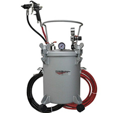 CA Technologies 100G-508 5-Gallon Adhesive System including Hoses & Panther Spray Gun