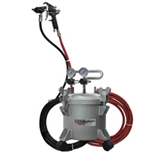 CA Technologies 100G-202 2.5-Gallon Adhesive System including Hoses & Panther Spray Gun