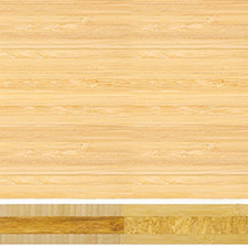 Teragren Bamboo Countertop - Prefinished Vertical Grain Natural Face + Wheat Strand Core - 1.5 x 36 x 72
