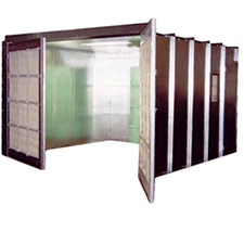 Col-Met Enclosed Industrial Spray Booths
