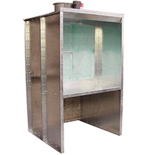 Col-Met Open Front Bench Spray Booths