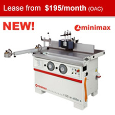 SCM Minimax T55W ELITE S Spindle Moulder with Sliding Table and Tilting Spindle