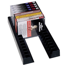 Rev-A-Shelf 372-CD-10 Storage Rails for CDs (2 Rails = 1 Holder)