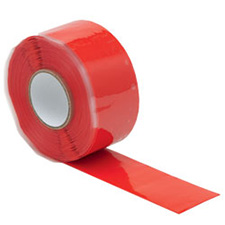 Wurth 0985077201804  Silicone Tape - 25mm x 3m - Red