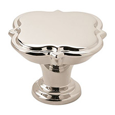 "Amerock BP36629PN Grace Revitalize Collection Knob – 1 3/4"" - 44mm – Polished Nickel"