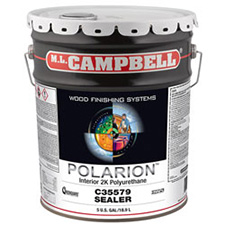 M.L. Campbell C35579 Polarion Interior Clear Sealer - 5 Gallons
