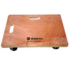 Wurth 25-1/2 Inch Solid Top Deck Dolly - 3