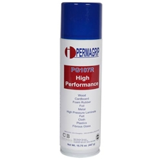 Perma-grip PG107 Red Contact Adhesive - 15oz Aerosol CanPerma-Grip PG107 Colle Contact Rouge - Canette d'Aérosol 17oz