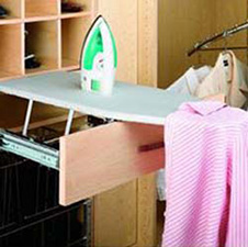 Rev A Shelf RAS-CIB COVER-R-52 Replacement Cover for Fold Out Ironing Board (CIB-16CR) - Silver