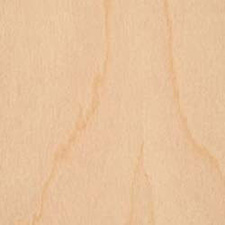 Flexible Dryback Veneer - RY White Birch .010mm 4x8