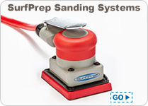SurfPrep Foam abrasives for sanding