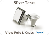 Silver Decorative Hardware