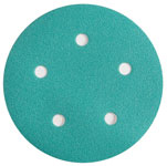 Emerald 5 Inch Hook and Loop 5 Hole Sanding Discs
