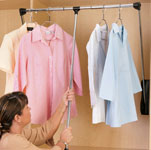 Pull Down Closet Rods