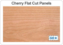 Flat Cut Cherry Cabinet Grade Plywood