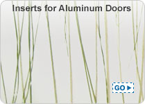 3Form Architectural Resin Inserts for Aluminum Doors