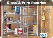 Glass Pantries and Pantry Accessories