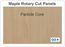 Maple Rotary Cut Particle Core