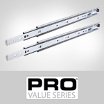 PRO Value Series-200 Ball Bearing Drawer Slides