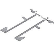 Blum Movento ZS7.400MU Side Stabilization Set for Runners up to 400mm