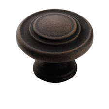 Amerock BP1586-ART Inspirations 3 Ring Knob - 1 3/8