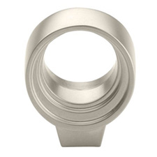 Amerock BP53045-SN Sonara Collection Galleria Amulent Knob - 27mm - Satin Nickel