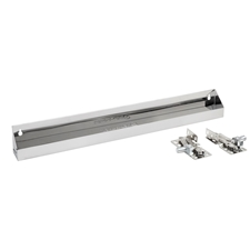 "Rev-A-Shelf 6581-25SC-52 25"" Tip-Out Sink Tray with Soft Close Hinges - Stainless Steel"