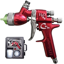CA Technologies CPR-G-W H2O Compliant Waterbourne Pressure Reduced Spray Gun Pack