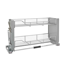 Rev A Shelf 5PD-36CRN Chrome Pull Down Shelf - 36