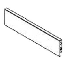 PRO Value Series M01021 E-18 Front Section for Inner Drawer - 1100mm - Grey