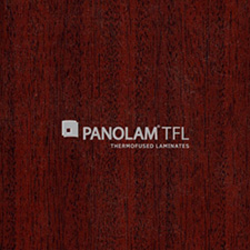 Panolam TFL Melamine W370 Noble Mahogany Satin Finish 1
