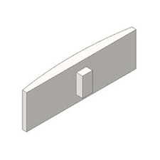 Blum 70.1503 Nickel Hinge Arm Cap