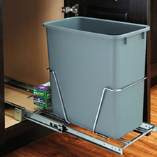 20 QT PULLOUT WASTE W/FULL EXT SLD 1