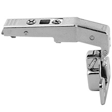 Blum 79T9550 CLIP Top Blind Corner Hinge - 95° Opening - Inset Application - with Spring - Screw-on
