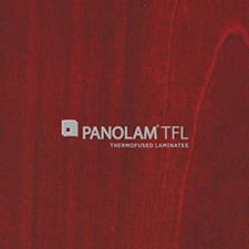 Panolam TFL Melamine W144 Wild Cherry Satin Finish 1