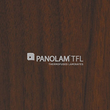Panolam TFL Melamine W393 Corporate Walnut Satin Finish 3/4