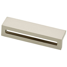 Liberty Hardware P30951-SN-C Urban Square Collection 96mm Pull Satin Nickel