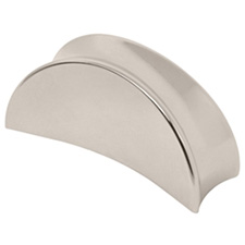 Liberty Hardware P07019C-PN-C Gio Collection 28mm Knob Polished Nickel