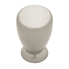 Liberty Hardware PN0248-SN-C Modern Cable Collection 19mm Milk Bottle Knob Satin Nickel