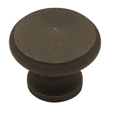 Liberty Hardware PN0397-OB-C Modern Cable Collection 30mm Large Peak Knob Distressed Oil Rubbed Bronze