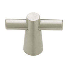 Liberty Hardware PN6496-SS-C Palladium Collection 50mm Conical T Knob Stainless Steel