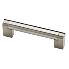 Liberty Hardware P28920-SS-C Stratford Collection 96mm Bar Pull Stainless SteelQuincaillerie Liberté / Liberty Hardware P28920-SS-C Poignée en Barre Collection Stratford - 96mm - Acier Inoxydable