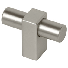 Liberty Hardware P17020C-110-C Modern Metal Collection 45mm Mount Knob Stainless Steel