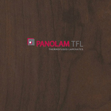 Panolam TFL Melamine W340 Brown Pearwood Chamois Finish 3/4 G2S 61X109