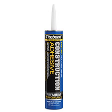 Titebond 4221 Titebond Fast Set Construction Adhesive - 10oz Cartridge