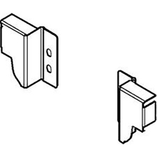 Blum Z30N000S.04 Back Fixing Brackets for TANDEMBOX - Height N (81.5mm) - Left + Right - White