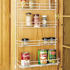 Rev A Shelf 565-10-52 Door Mount Storage Wire Spice Rack - 10 5/8