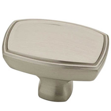 Liberty Hardware P2243800-SN-C Ashtyn Collection Rectangle Knob 1 1/2