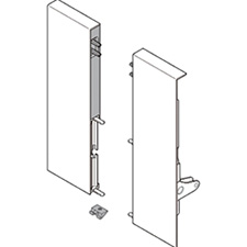 Blum ZIF.82D0.01 TANDEMBOX Front Fixing Height D for Inner Pull-out with Gallery Left/Right for TANDEMBOX Intivo