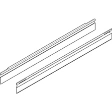 Blum Z49L522I ORGA-LINE Adapter Profile for Cross Divider Nominal Length = 550mm for TANDEMBOX Intivo - Stainless Steel